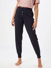 Calida Pyjamasbukser  Mørkeblå / Pink / Hvid