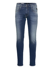 Anbass Trousers Hyperflex Re-used Slim Jeans Blå Replay
