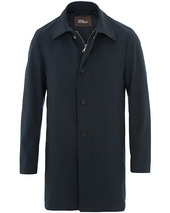 Oscar Jacobson Johnsson Coat Navy