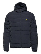 Lightweight Puffer Jacket Foret Jakke Blå Lyle & Scott