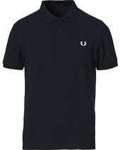 Fred Perry Plain Polo Navy