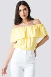 Sparkz Tara Top - Yellow