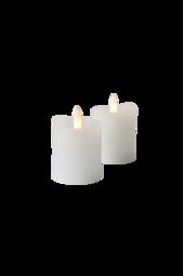 Tindra Led-lys 2-pak Hvid