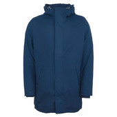 Long Rain Jacket Navy