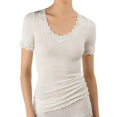 Calida Richesse Lace Short-sleeve Top