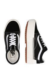 Vans Sneaker Low 'ua Old Skool Stacked'  Sort / Hvid