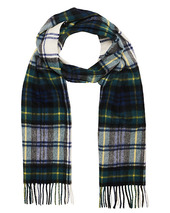 Barbour Lifestyle New Check Tartan Lambswool/cashmere Scarf Dress Gord
