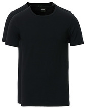 Boss 2-pack Crew Neck Slim Fit Tee Black