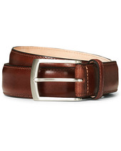 Loake 1880 Henry Leather Belt 3,3 Cm Mahogany