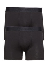 Jbs Of Denmark, 2-pack Bamboo Boxershorts Sort Jbs Of Denmark