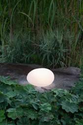 Solcelledekoration Globy 32 Cm Hvid