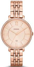 Fossil Dress Dameur Es3546 Rosa Guldfarvet/rosaguldtonet Stål Ø36 Mm