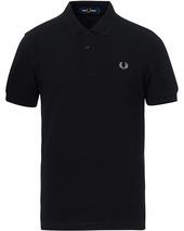 Fred Perry Plain Polo Black