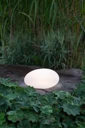 Solcelledekoration Globy Hvid