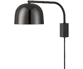 Normann Copenhagen Grant Væglampe - Sort - 43