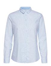 Frzaoxford 1 Shirt Langærmet Skjorte Blå Fransa