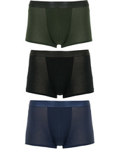 Cdlp 3-pack Boxer Trunk Black/army Green/navy