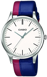Casio Casio Collection Herreur Mtp-e133l-2eef Hvid/læder Ø46 Mm