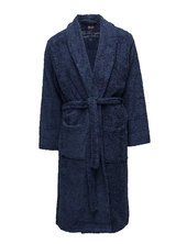 Lexington Original Bathrobe Morgenkåbe Badekåbe Blå Lexington Home