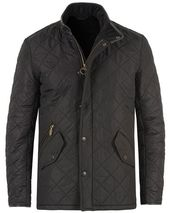 Barbour International Powell Quilted Jacket Black