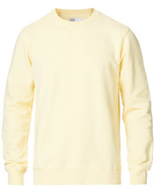 Colorful Standard Classic Organic Crew Neck Sweat Soft Yellow