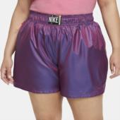 Vævede Nike Sportswear-shorts Til Kvinder (plus Size) - Lilla
