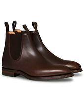 Loake 1880 Chatsworth Chelsea Boot Dk Brown Waxy Calf