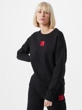 Hugo Sweatshirt 'nakira'  Sort / Brandrød