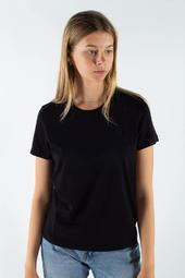 Uma T-shirt - Black/black - Wood Wood - Sort S
