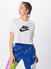 Nike Sportswear Shirts  Hvid / Sort
