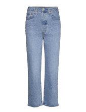 Ribcage Straight Ankle Tango G Lige Jeans Blå Levi´s Women