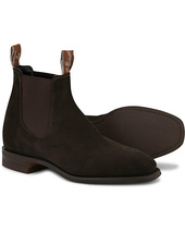R.m.williams Blaxland Chocolate Suede