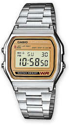Casio Casio Collection Herreur A158wea-9ef Stål 36.8x33.2 Mm