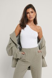 Trendyol One Shoulder Top - Offwhite