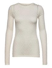 Fermi Langærmet T-shirt Hvid Gai+lisva