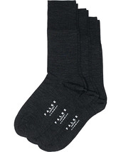 3-pack Airport Socks Anthracite Melange