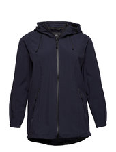 Softshell Jacket Water Repellent Soft And Warm Sommerjakke Tynd Jakke Blå Zizzi