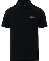 Barbour International Essential Polo Black