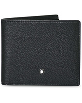 Montblanc Mst Soft Grain Wallet 6cc Black