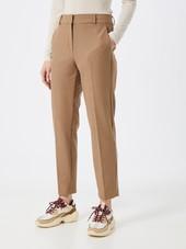 Selected Femme Bukser Med Fals  Camel / Beige
