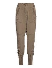 Nanna Pants Casual Bukser Creme Cream