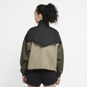 Vævede Nike Sportswear Icon Clash-anorak Til Kvinder - Sort