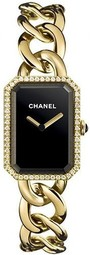 Chanel Premiere Dameur H3259 Sort/18 Karat Guld 20x28 Mm