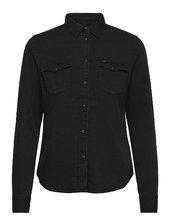 Regular Western Shir Langærmet Skjorte Sort Lee Jeans