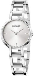 Calvin Klein 99999 Dameur K8n2314w Sølvfarvet/stål Ø32 Mm