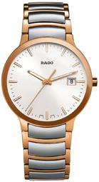 Rado Centrix Herreur R30554103 Hvid/rosaguldtonet Stål Ø38 Mm