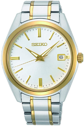 Seiko Conceptual Herreur Sur312p1 Sølvfarvet/gul Guldtonet Stål