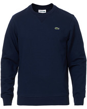 Lacoste Crew Neck Sweatshirt Navy Blue