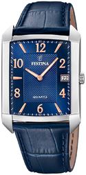 Festina Classic Herreur F20464-2 Blå/læder