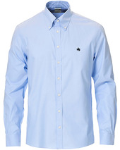 Brooks Brothers Milano Fit Button Down Shirt Light Blue